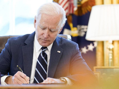 Biden Has First Major Victory with Signing of $1.9 Trillion Relief Bill into Law