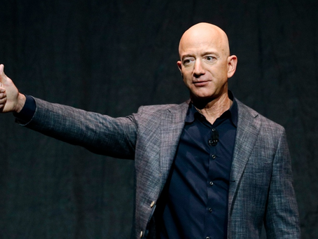 Jeff Bezos, Amazon's CEO Steps Down to Focus on New Projects