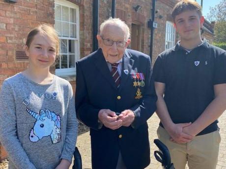 English Veteran Celebrates Milestone Birthday