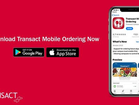 Mobile Ordering Offered Around SU Campus