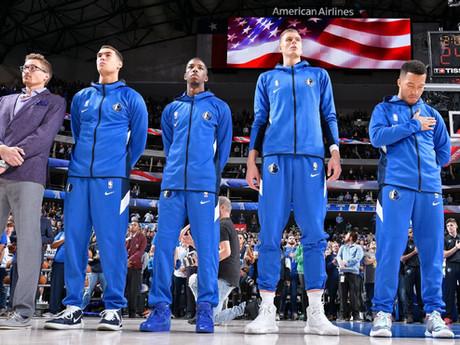 NBA Responds to Mavericks Decision to Not Play National Anthem for Home Games