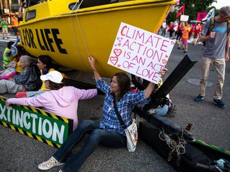 Climate Strike Protests bring D.C. to Standstill