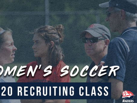 Women's Soccer Announces Signings for 2020 Recruiting Class