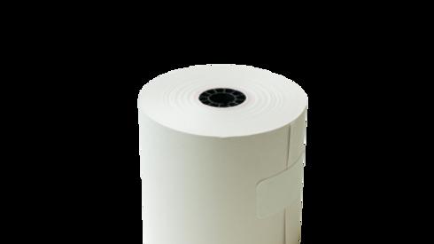 paper product:2 ply bond paper rolls kitchen receipt  (50's)