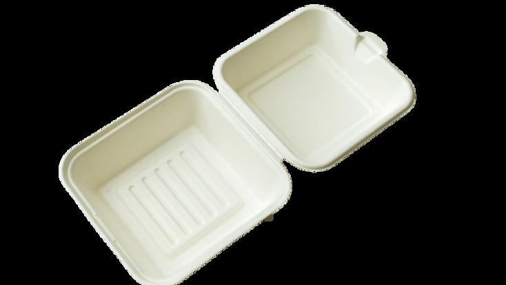 sugarcane product:GD-551.5''Fiber Burger Box(500's)