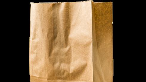 paper bag:DD50 50lb kraft bag(500's )1/6