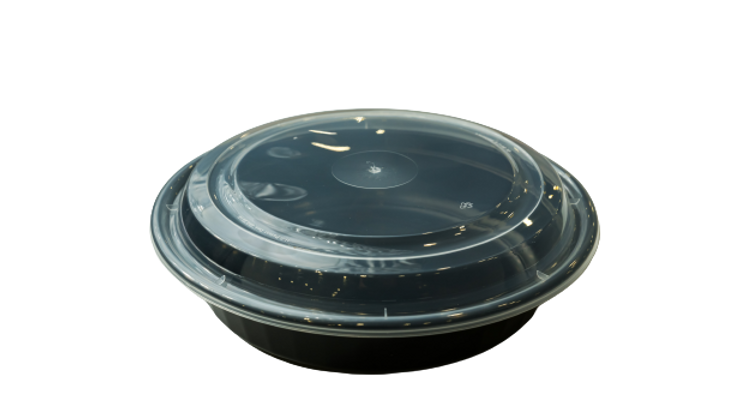 lungsang plastic container:8''maple leaf combo(150set)