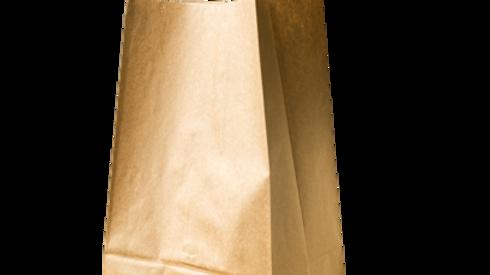 paper bag:20LB HD Brown Bag(2*250s)