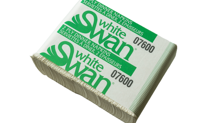 paper product:Swan Dinner Napkins,7600,2 ply, 2400pcs,