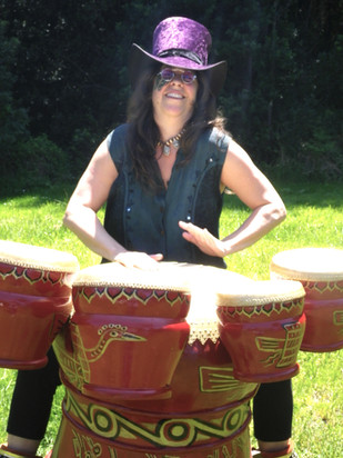 Vietnamese Hand Drums
