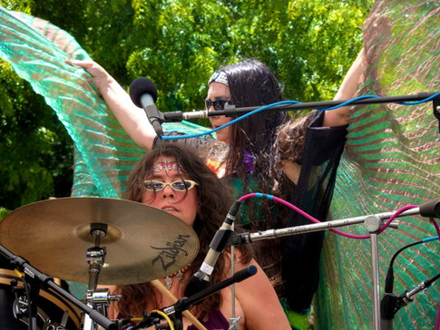 Tribal Drums and Tribal Belly Dancer Tatseena