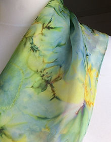 Hand Crafted Silk Scarf