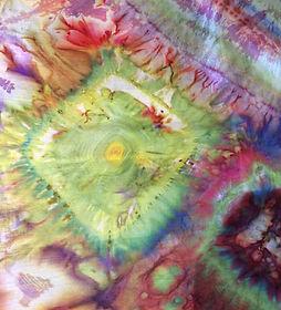Detail of Silk Scarf