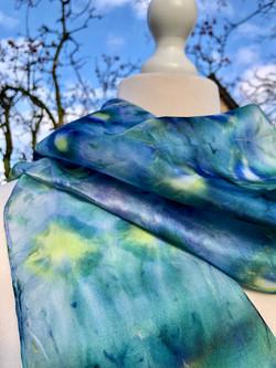 Woodland Gems Silk Scarf
