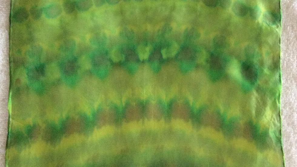 Silk Pocket Square ~ Handkerchief.Handcrafted in Suffolk ~