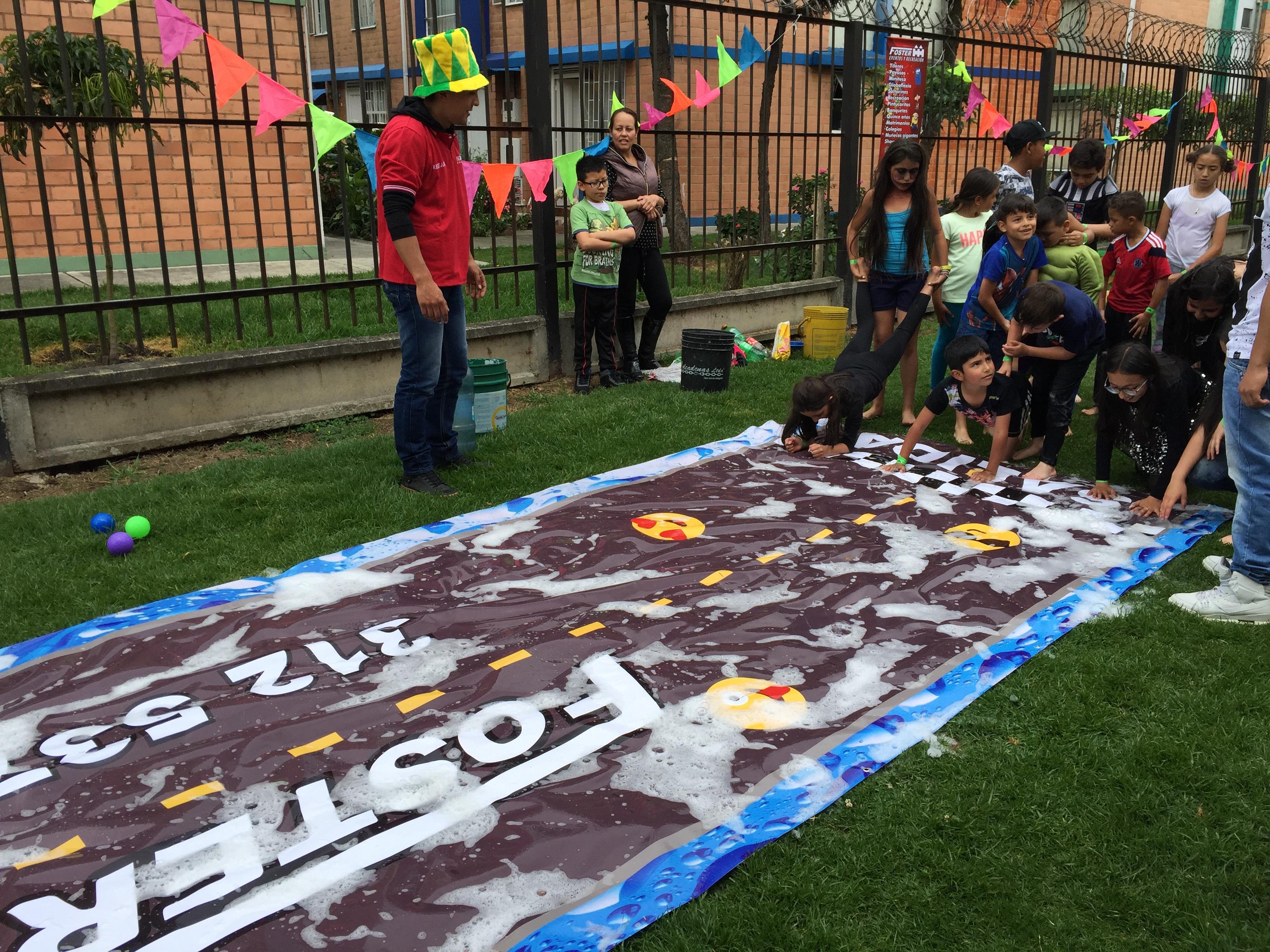 Feria Match Pista de Jabon Evento