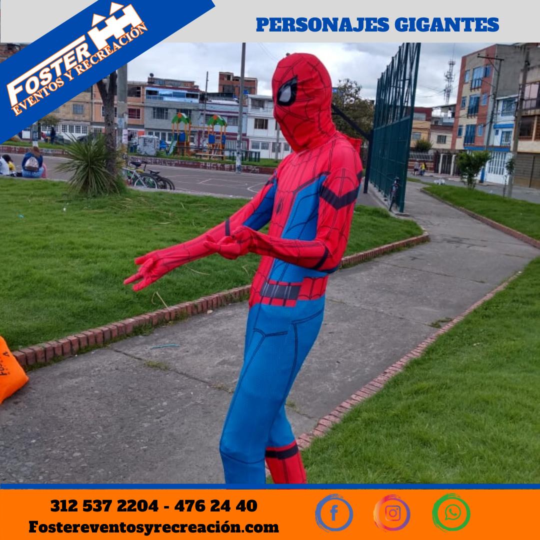 Personaje gigante Hombre araña