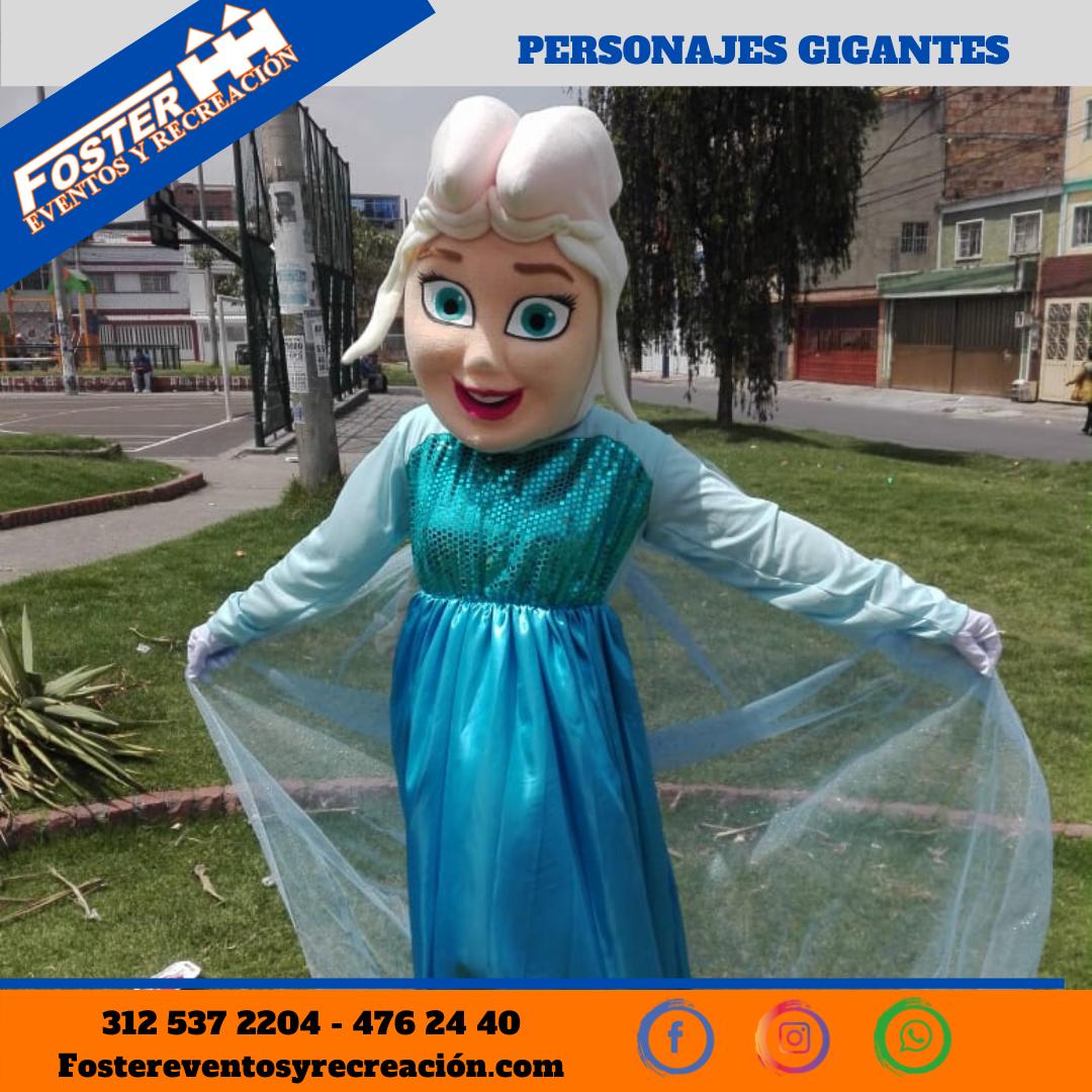 Personaje gigante Frozen