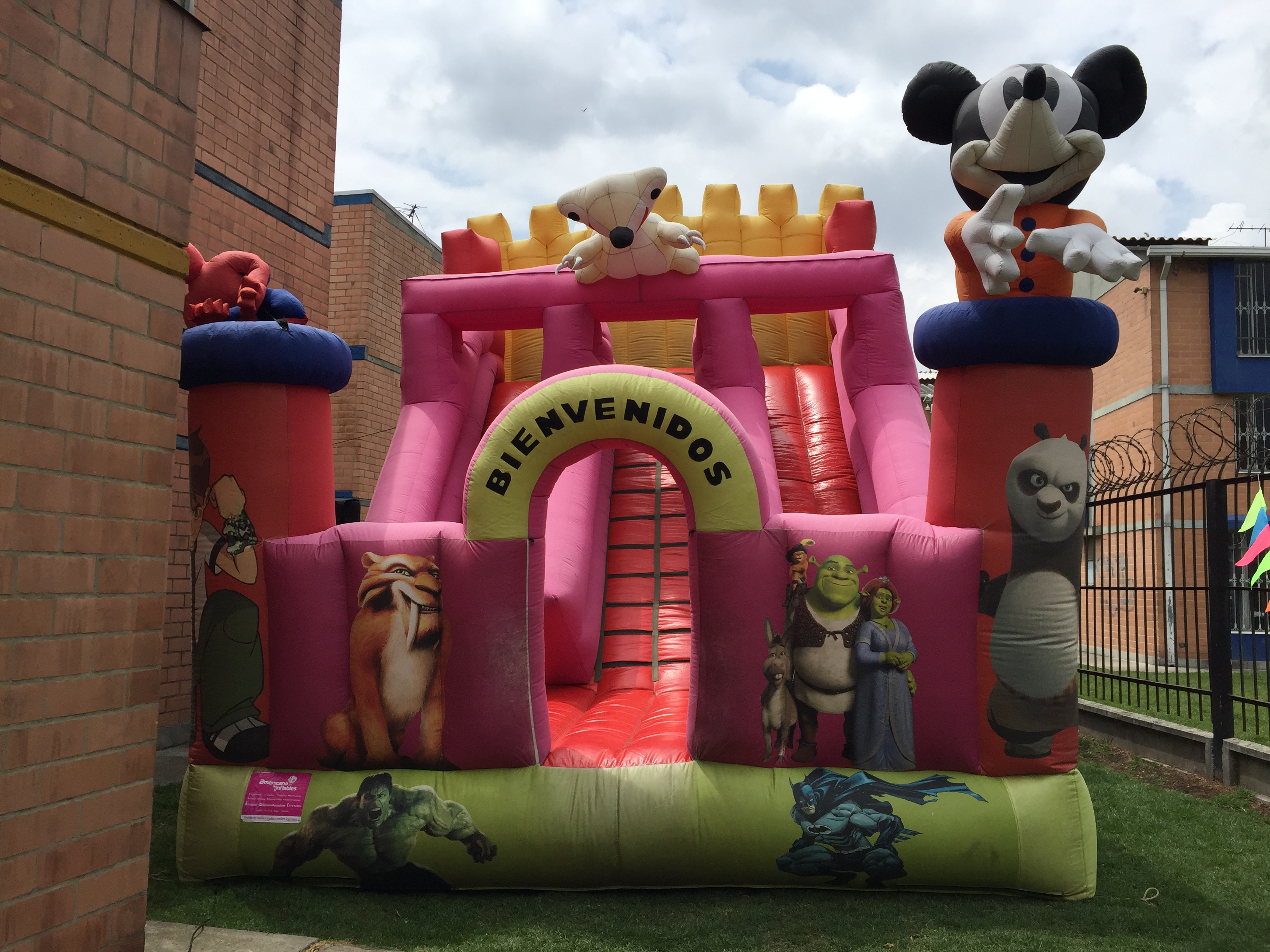 Feria Match Saltarin Inflable