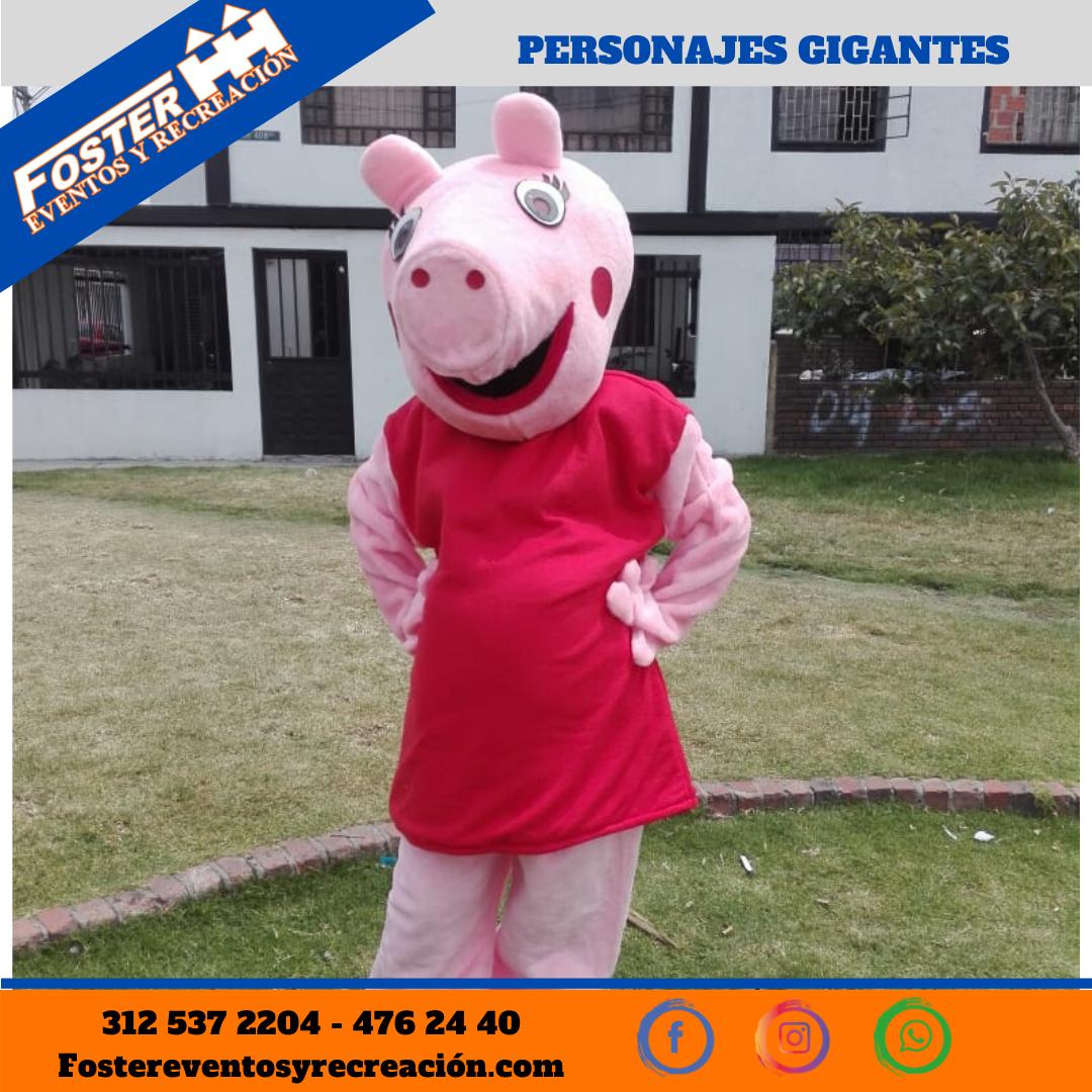 Personaje gigante Pepa Pig