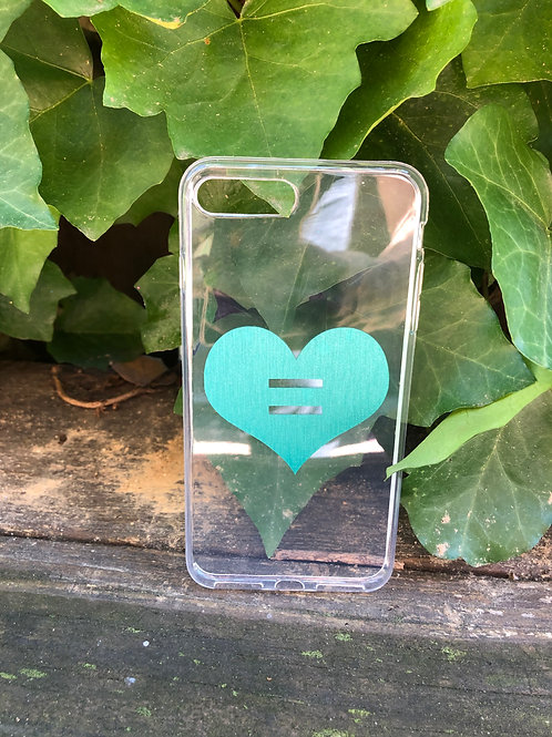 Love is Love Equality Heart Phone Case