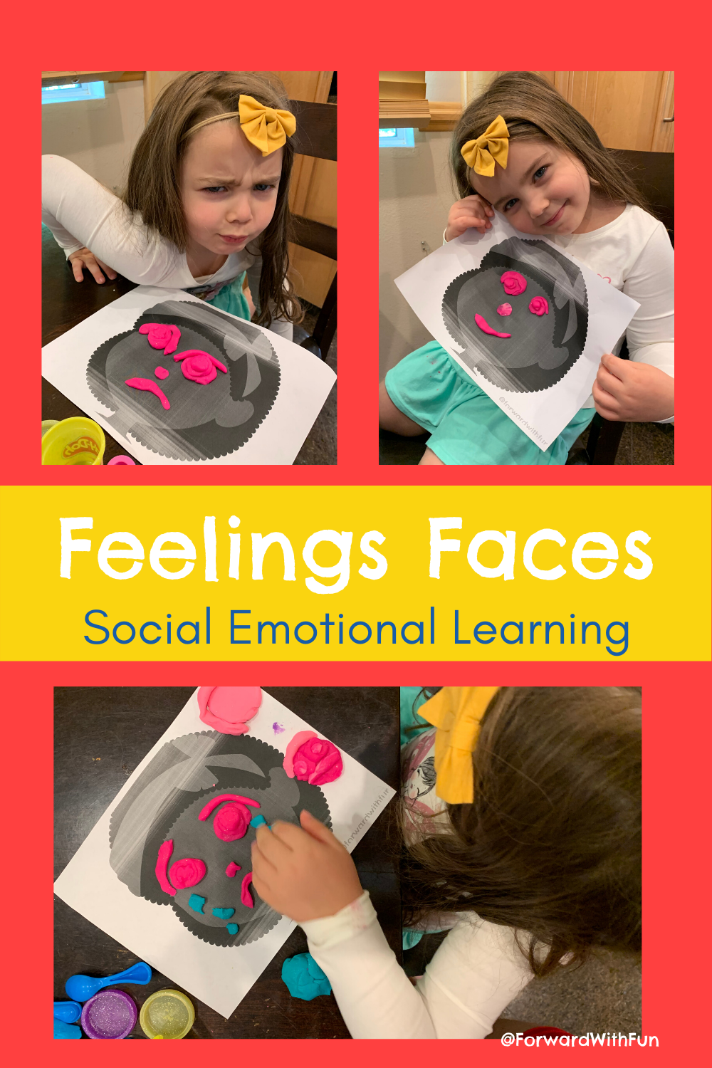 Emotional Intelligence is built by learning how to recognize, understand and label feelings.