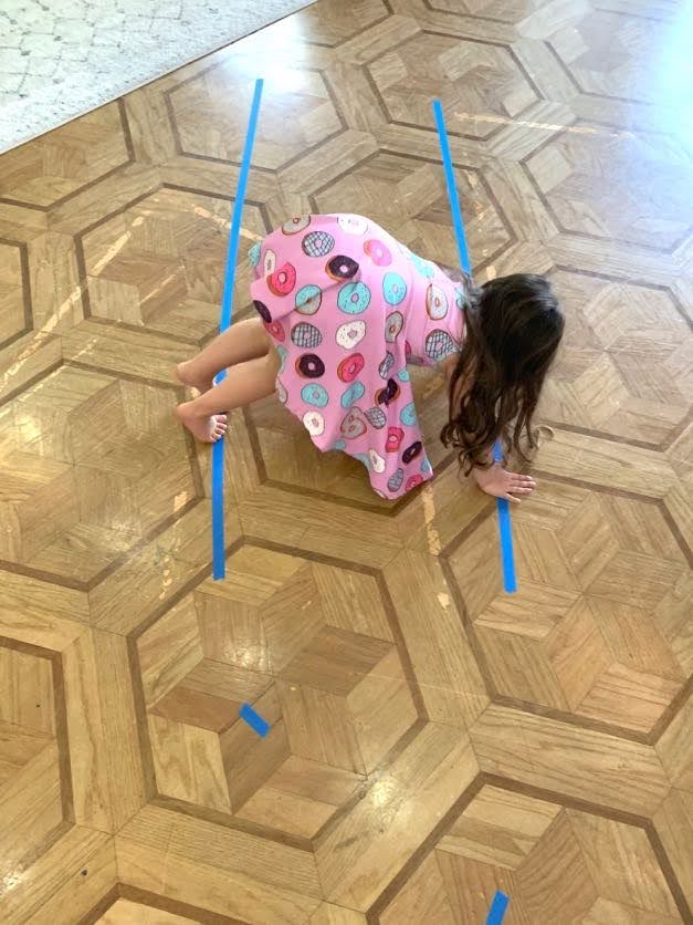 Obstacle Course crawling