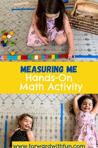 Measuring Me - Hands On Math Activity