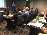 Pre-convention training class