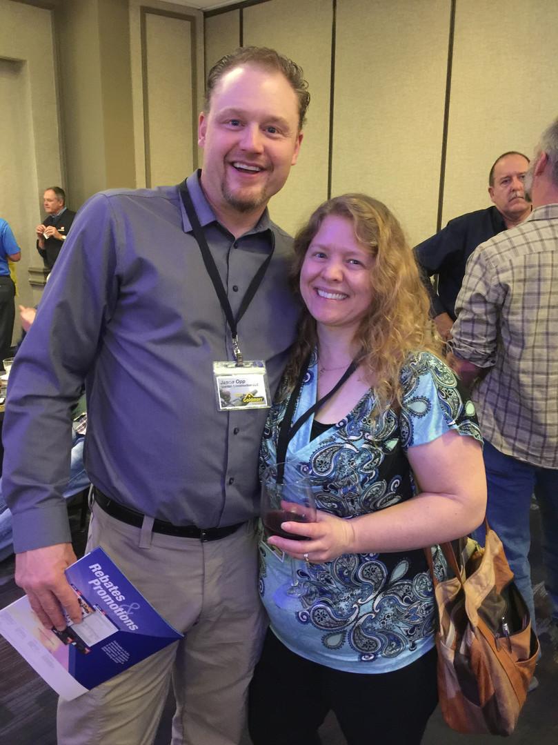 Jason and Jenny Opp