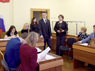Участие адвокатов КА СОГА в модельном судебном процессе