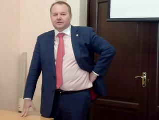 "Лекция Председателя Президиума КА ""СОГА"" на базовой кафедре"