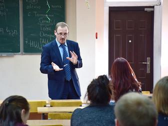 Мастер-класс Сергея Колосовского в Гуманитарном университете