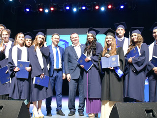 Вручение дипломов выпускникам Института юстиции УрГЮУ