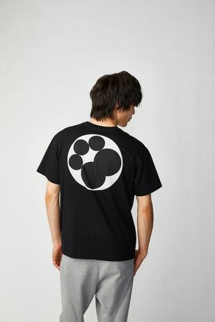 XINZANXIN五曜星Tシャツ ブラック バック