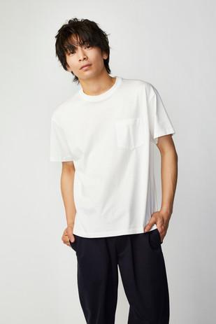 XINZANXIN五曜星Tシャツ ホワイト フロント