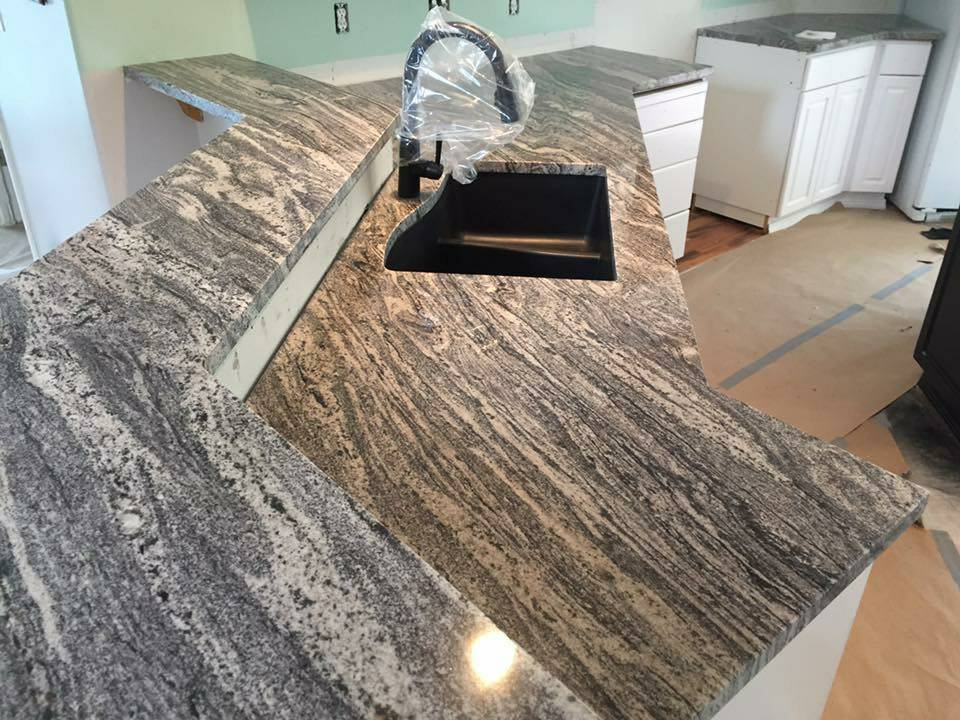 Silver cloud countertop