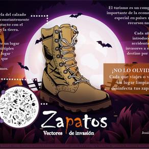Zapatos como Vectores de Invasión