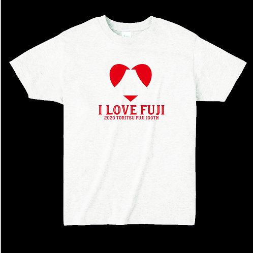 【1万円返礼品】オリジナルTシャツ&缶バッチC.飯島章博デザイン