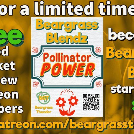 Become a Beargrass Bud and get free KY-native seeds!