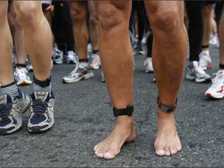 Who shouldn't run barefoot?