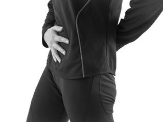 Tucking your pelvis under when you run