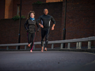 The pros and cons of a running partner