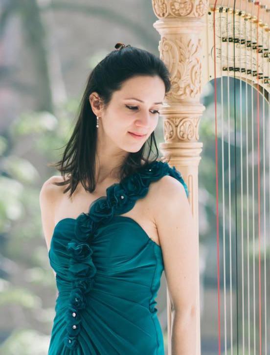 Sonia Bize, Harp, France