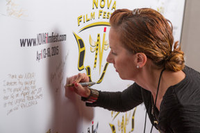 Signing the Wall 8