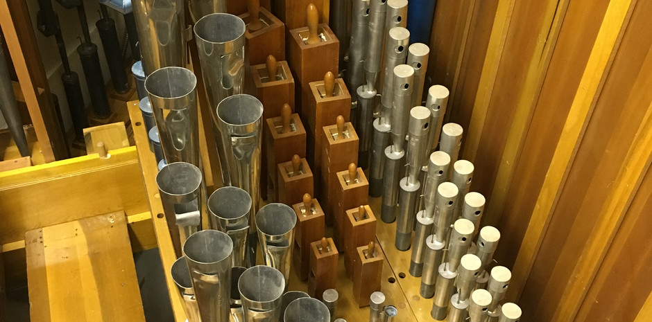 Solo Chamber:  (L-R): Trumpet, Tibia Clausa, Vox Humana