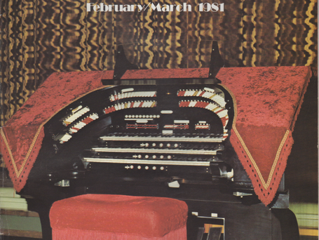 "The Fargo Theatre Wurlitzer was the featured instrument in the February/March 1981 Issue of the ATOS Theatre Organ Journal. The console pictured came from a church in Sioux Falls that had a ""church"" style Wurlitzer."