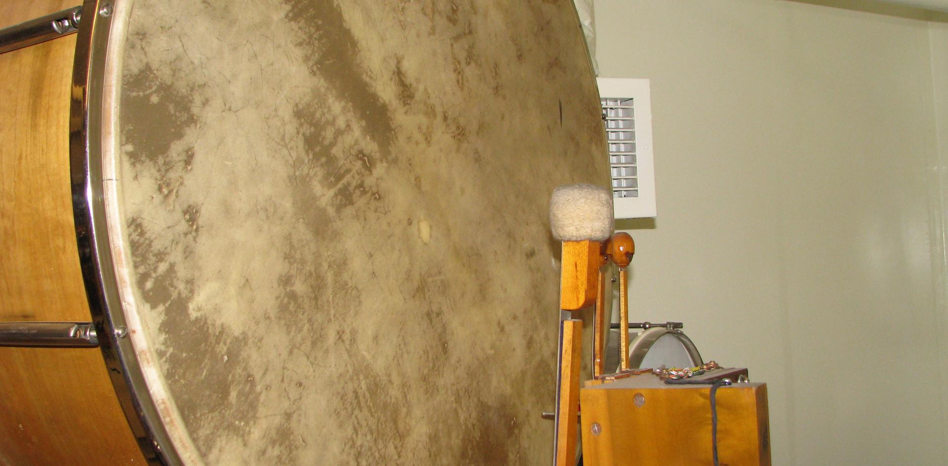 Percussion Chamber:  Bass Drum, Timpani effect