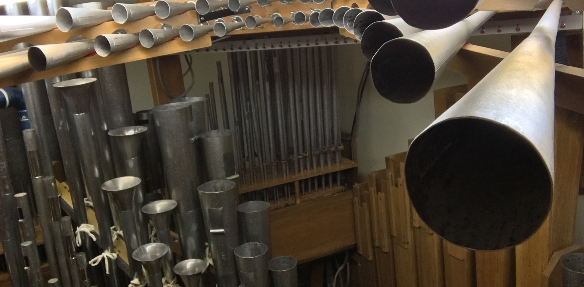 """The English Post Horn is """"en chamade"""" in the Solo Chamber"""