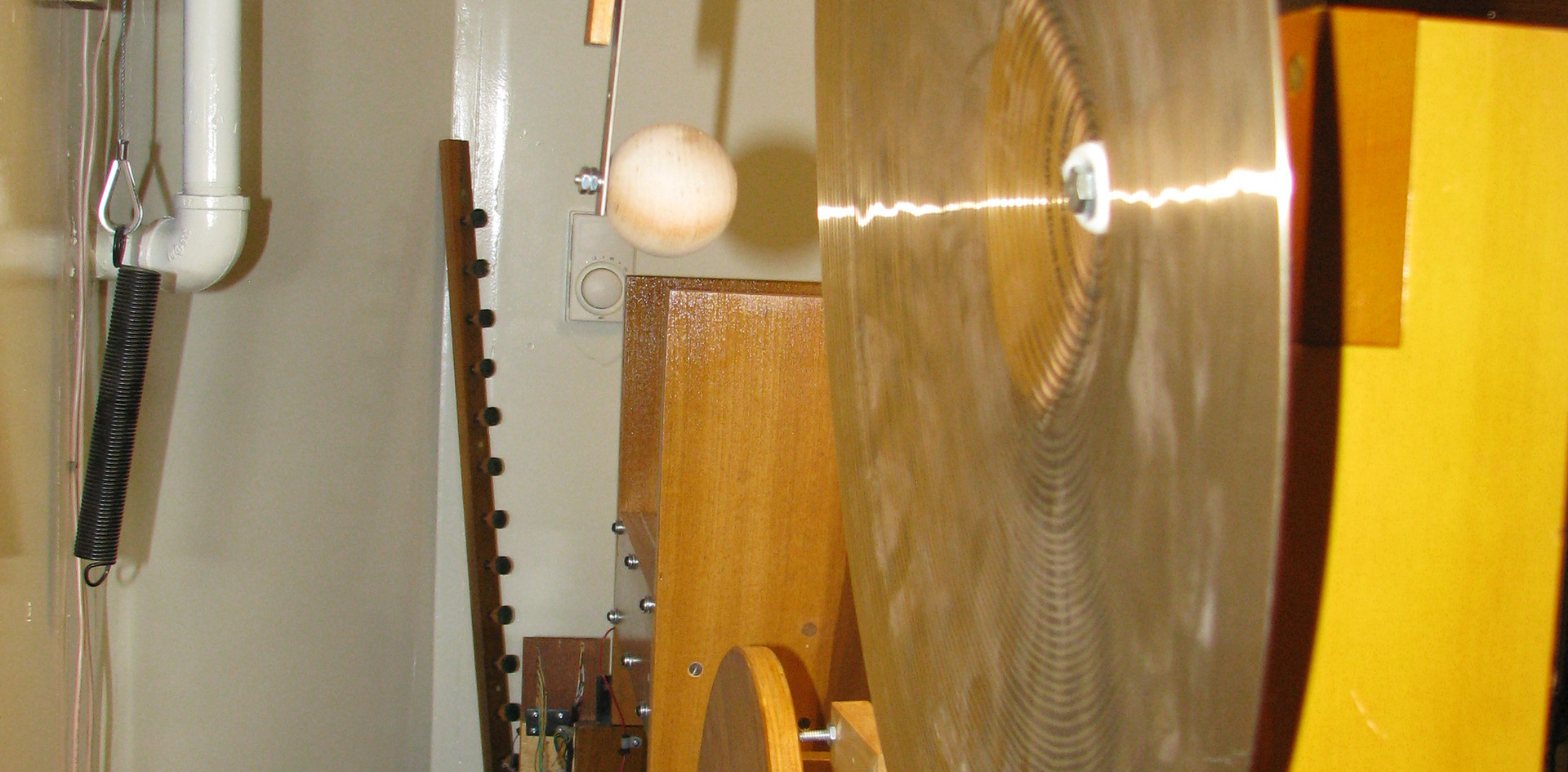Percussion Chamber:  Crash Cymbal, Roll Cymbal